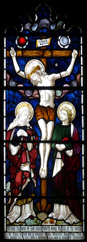 Stained Glass Windows of Christ Church, Stone