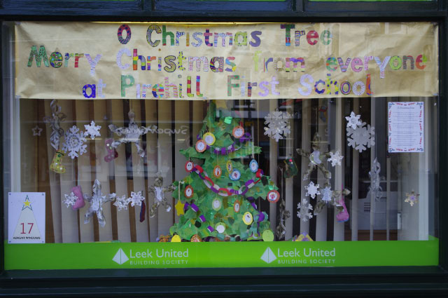 Windows 17 - John Burton solicitors decorated by Pirehill First School - 